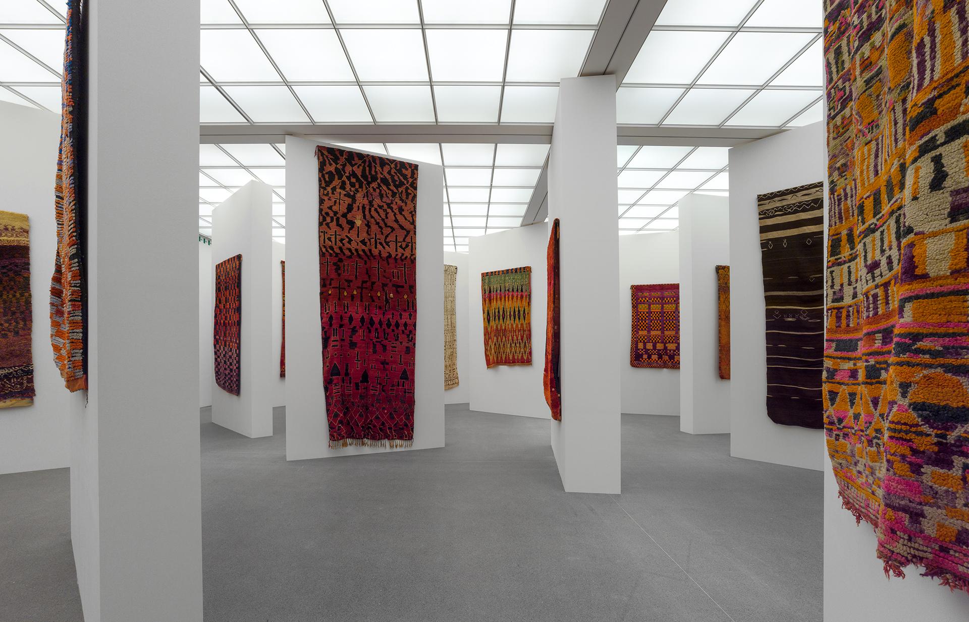 Die neue sammlung marokkanische teppiche und die kunst for Kunst der moderne