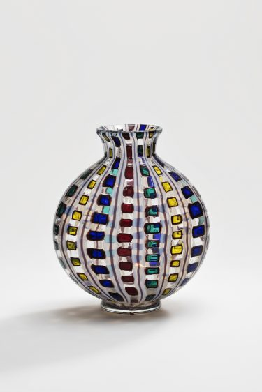"""Vase """"Diamantato"""", c. 1968, Ercole Barovier für Barovier & Toso, XXXIV. Biennale di Venezia, 1968"""