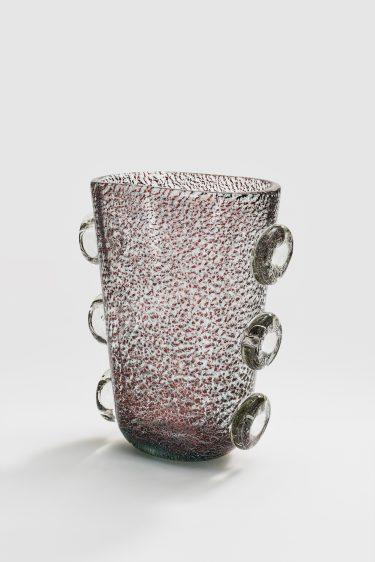 Vase, c. 1935/36, Ercole Barovier für Barovier & Toso, XX. Biennale di Venezia, 1936