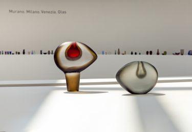 "Objekte ""Vetro Pesante"" (Installationsansicht), Alfredo Barbini, c. 1962, XXXI. Biennale 1962, Foto: Anna Seibel"