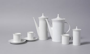 "Hans Theo Baumann . Mokka- und Kaffeeservice | mocha and coffee service 13000 ""Berlin"", 1956/1957 Hersteller 
