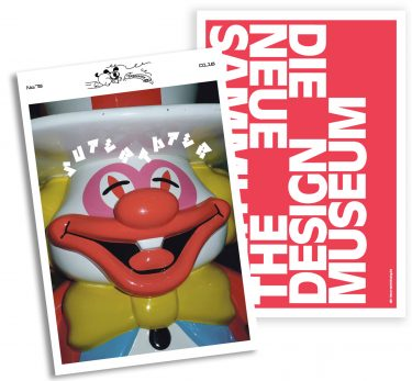 Print. Werbeanzeige für Super Paper. Design: Bureau Mirko Borsche