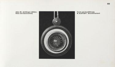 S. 111 aus: [Kat.Ausst.] Staatliches Bauhaus in Weimar 1919-1923. Weimar 1923