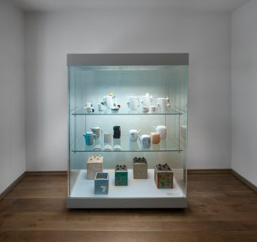 Internationales Keramik-Museum. Blick in die Präsentation
